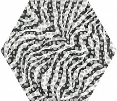 Zebra Hexagone
